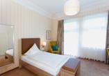 Hotel Noltmann-Peters in Bad Rothenfelde, Beispiel Einzelzimmer