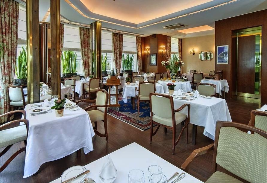 Grand Hotel Cravat in Luxemburg, Brasserie