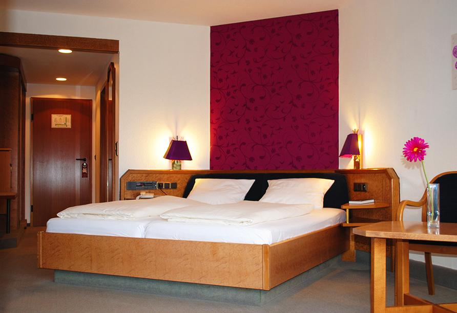 Hotel Seeblick in Kirchheim im Hessischen Bergland Zimmerbeispiel