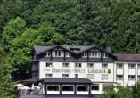 Hotel Lahnblick in Bad Laasphe, Außenansicht