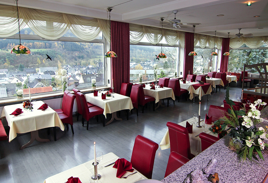 Hotel Lahnblick in Bad Laasphe, Restaurant