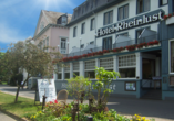 Hotel Rheinlust, Boppard, Außenansicht