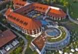 Quellness- und Golfhotel Fürstenhof in Bad Griesbach im Bayerischen Bäderdreieck, Außenansicht