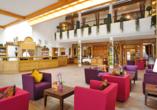 Quellness- und Golfhotel Fürstenhof in Bad Griesbach im Bayerischen Bäderdreieck, Lobby