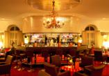 Quellness- und Golfhotel Fürstenhof in Bad Griesbach im Bayerischen Bäderdreieck, Bar