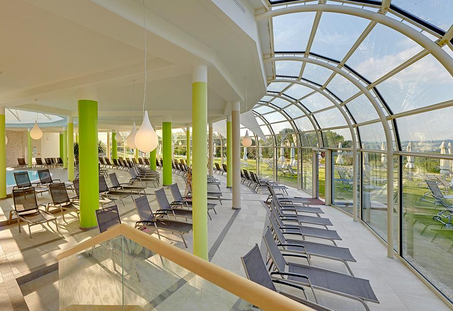 Quellness- und Golfhotel Fürstenhof in Bad Griesbach im Bayerischen Bäderdreieck, Liegen