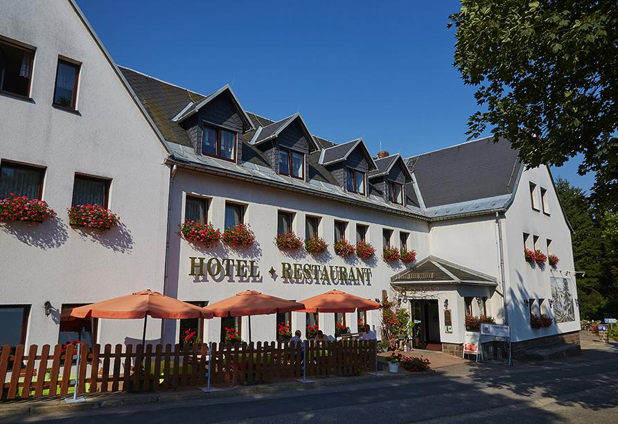 Flair- & Berghotel Talblick in Holzhau, Hotelansicht