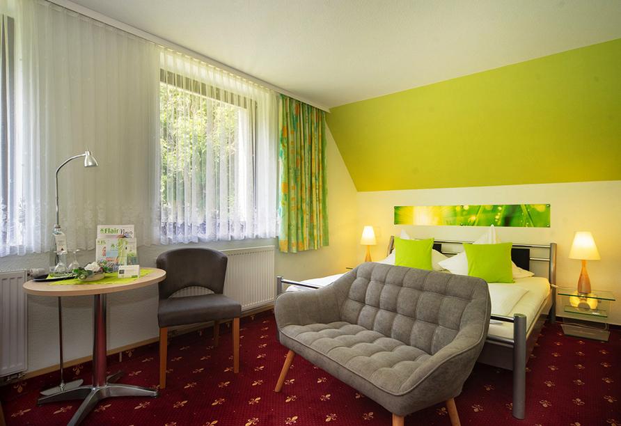 Flair- & Berghotel Talblick in Holzhau, Zimmerbeispiel