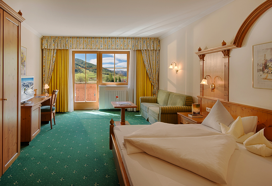 Hotel Gallhaus in St. Johann im Ahrntal, Zimmerbeispiel Edelweiss