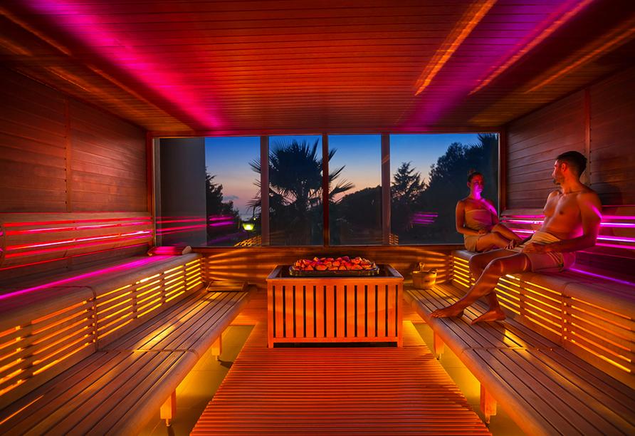 Hotel Aminess Maestral, Sauna