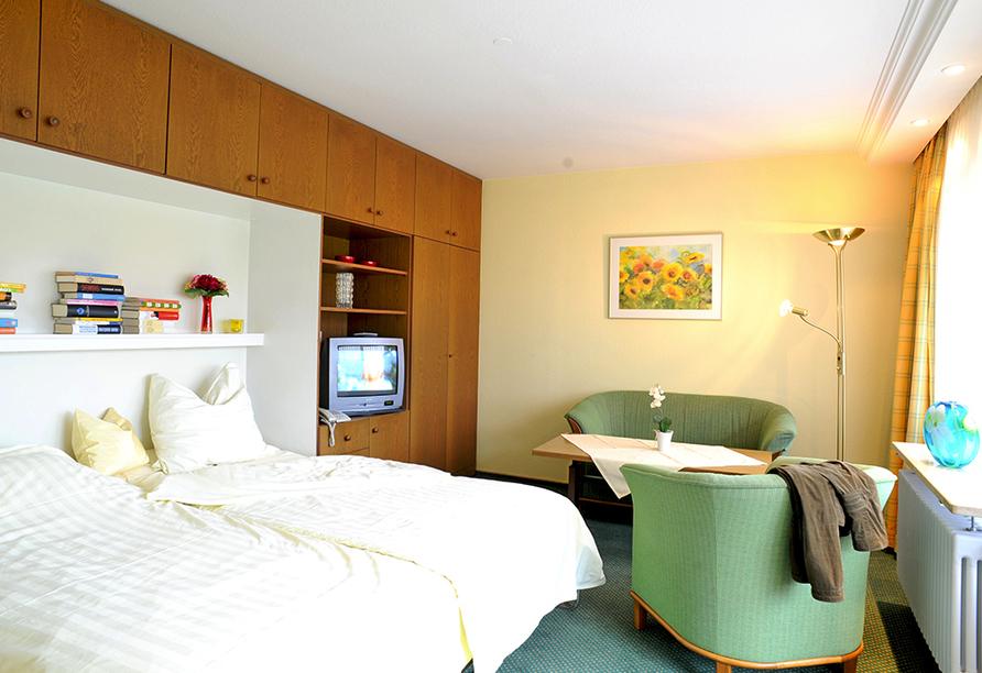 Appartement Hotel Royal in Bad Füssing im Bäderdreieck, Beispiel Appartement