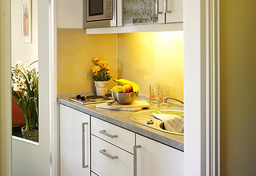 Appartement Hotel Royal in Bad Füssing im Bäderdreieck, Beispiel Küche