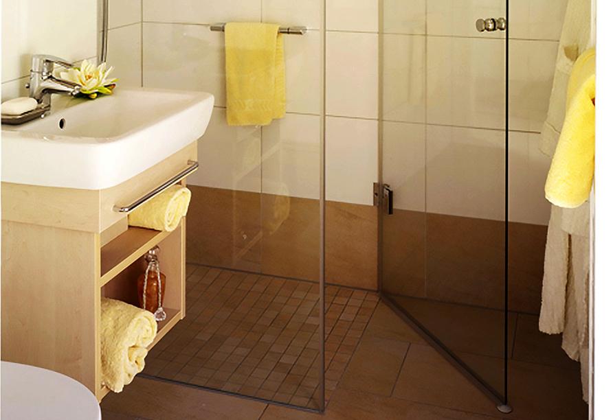 Appartement Hotel Royal in Bad Füssing im Bäderdreieck, Beispiel Badezimmer
