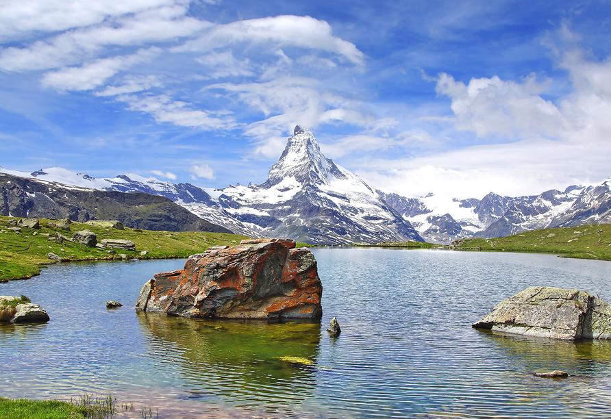 Hotel Kristall-Saphir in Saas-Almagell, Matterhorn