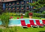 Golf & Alpin Wellness Resort Ludwig Royal Oberstaufen Allgäu, Außenpool