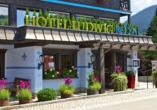 Golf & Alpin Wellness Resort Ludwig Royal Oberstaufen Allgäu, Eingang