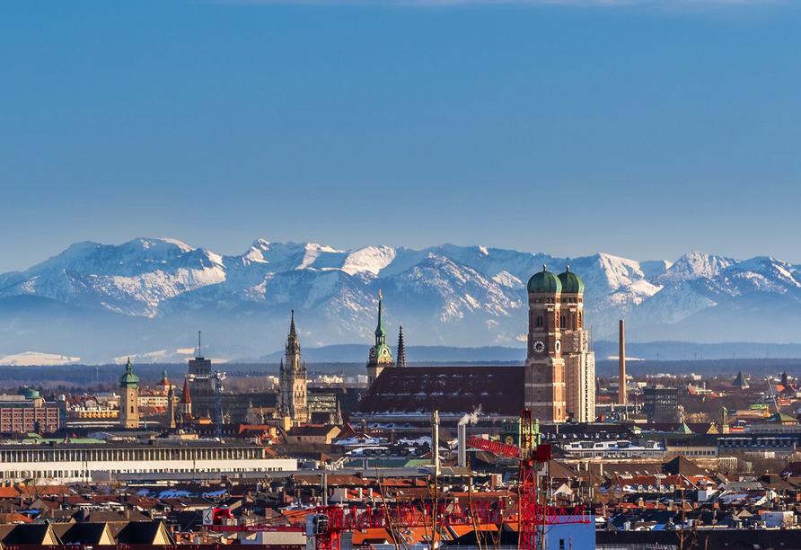 das seidl Hotel & Tagung in Puchheim bei München, Luftansicht München