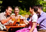 das seidl Hotel & Tagung in Puchheim bei München, Biergarten