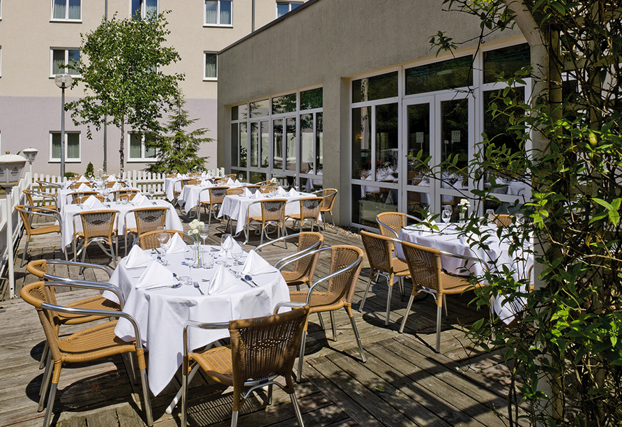 TRYP by Wyndham Hotel Celle in Celle in der Lüneburger Heide Terrasse