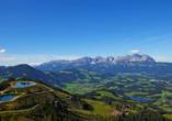 Hotel Aurach in Österreich, Bergwelt