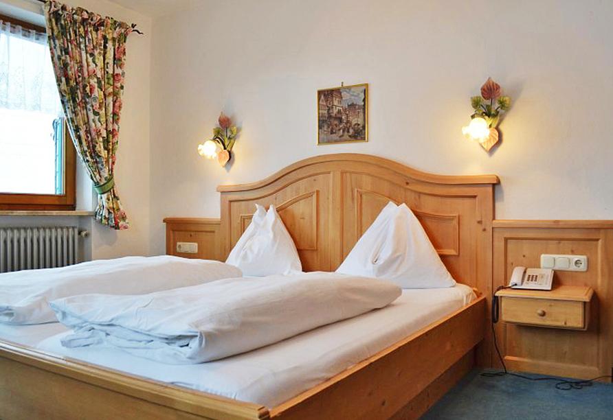 Hotel Aurach in Österreich Zimmerbeispiel