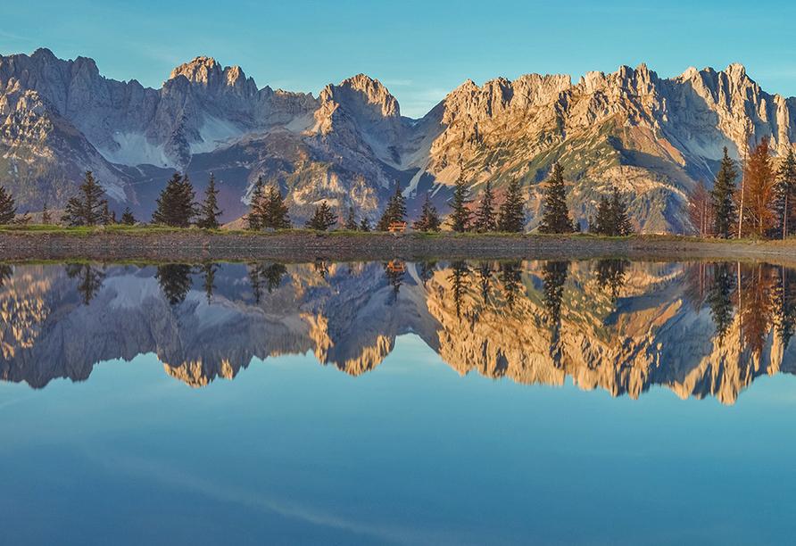 Hotel Sonnalp, Kirchberg, Tirol, Österreich, Spiegel des Kaisers