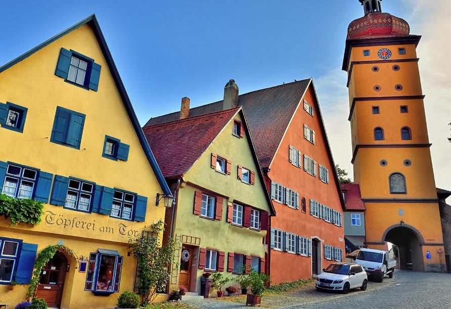 Romantica Hotel Blauer Hecht in Dinkelsbühl, Dinkelsbühl