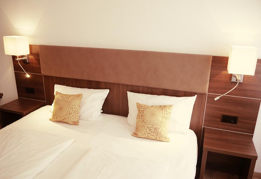 Romantica Hotel Blauer Hecht in Dinkelsbühl, Beispiel Doppelzimmer