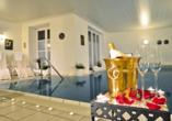 Romantica Hotel Blauer Hecht in Dinkelsbühl, Hallenbad