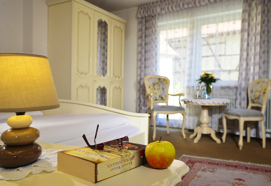 Romantica Hotel Blauer Hecht in Dinkelsbühl, Zimmerbeispiel