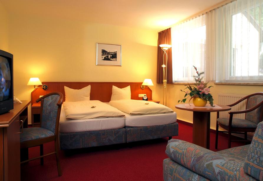 Hotel am Schlossberg in Ziegenrück an der Saale, Zimmerbeispiel