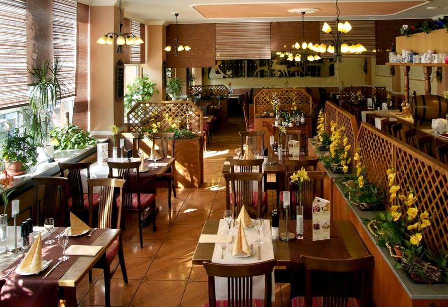Hotel am Schlossberg in Ziegenrück an der Saale, Restaurant