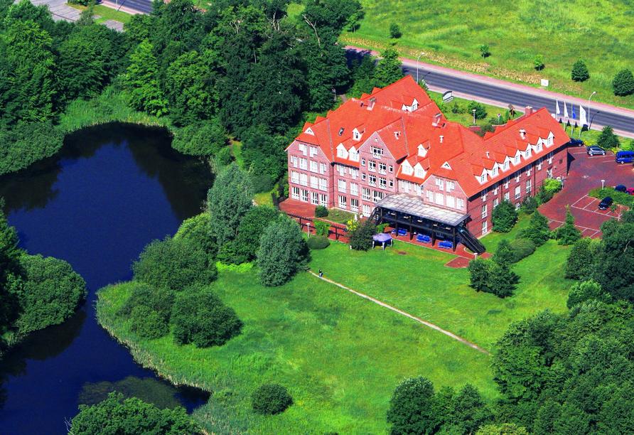 The Royal Inn Park Hotel Fasanerie, Außenansicht