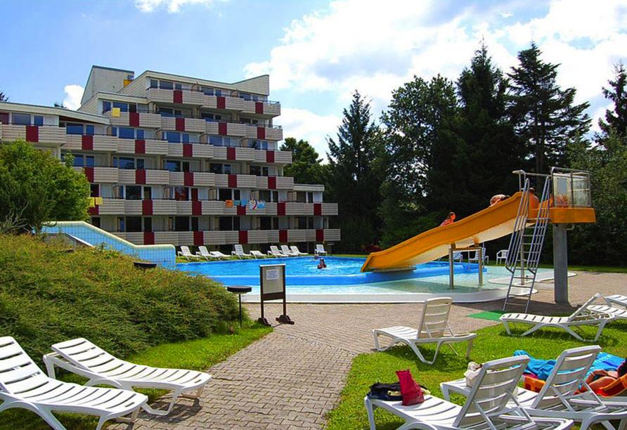 Predigtstuhl Resort in St. Englmar im Bayerischen Wald, Außenansicht