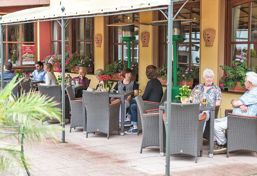 PRIMA Hotel Vita Balance in Waldbreitbach, Terrasse