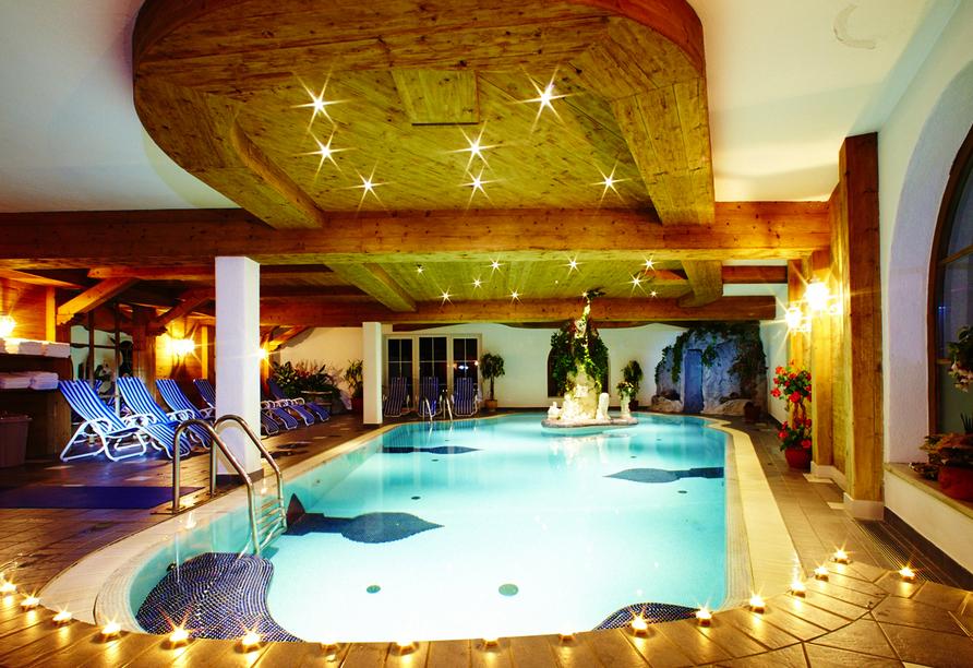 Hotel Brennerspitz in Neustift, Hallenbad