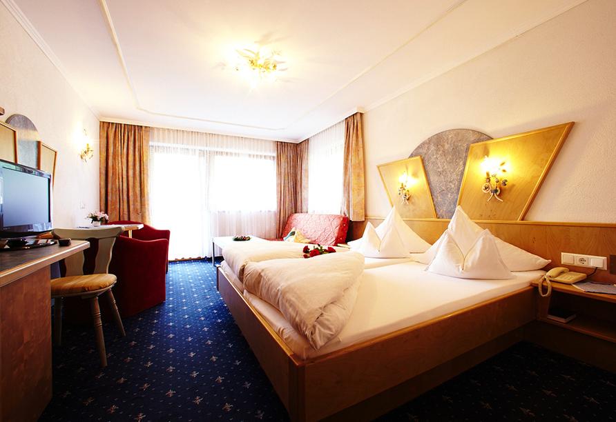 Hotel Brennerspitz in Neustift im Stubaital, Zimmerbeispiel