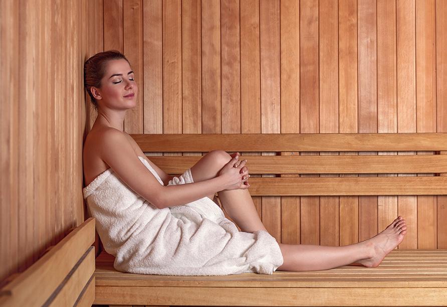Hotel Brennerspitz in Neustift im Stubaital, Entspannung in der Sauna