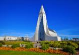Moderne und beeindruckende Architektur erwartet Sie in Reykjavík.