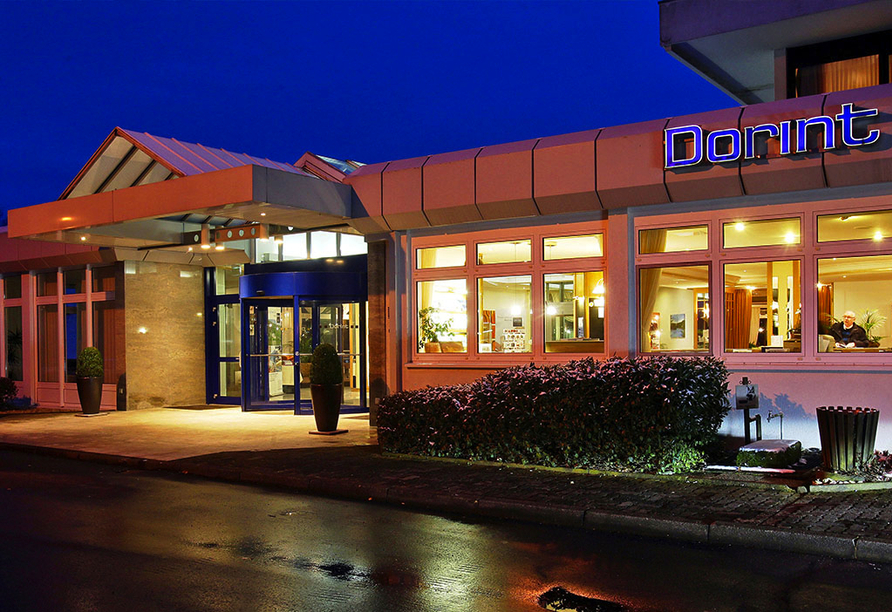 Dorint Seehotel & Resort Bitburg Südeifel, Eingang