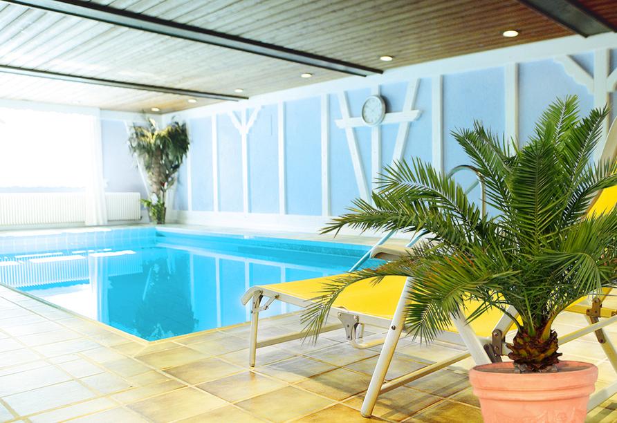 Hotel Krone in Hirschberg-Großsachsen an der Badischen Bergstraße, Schwimmbad