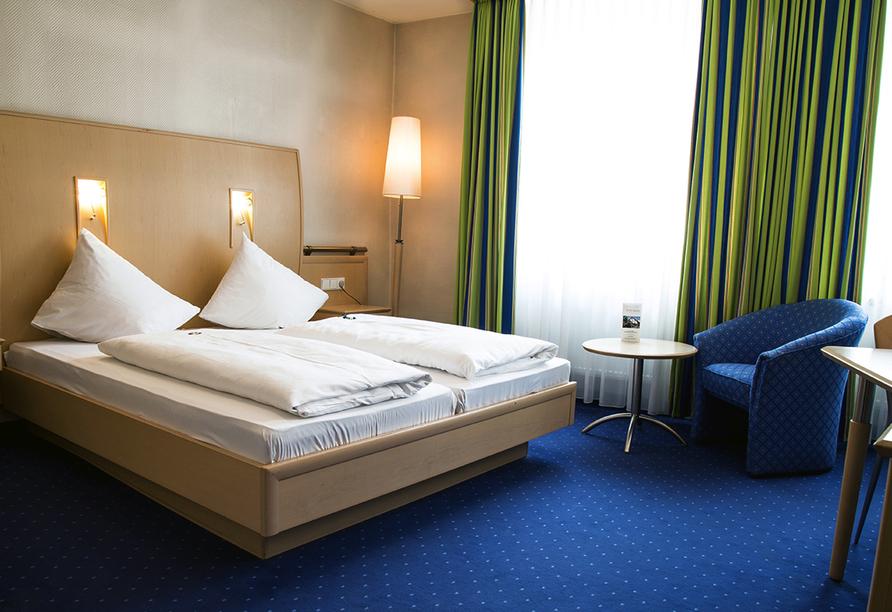 Hotel Krone in Hirschberg-Großsachsen an der Badischen Bergstraße, Zimmerbeispiel