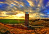 AQUAMARIS Strandresidenz Rügen an der Ostsee, Leuchtturm