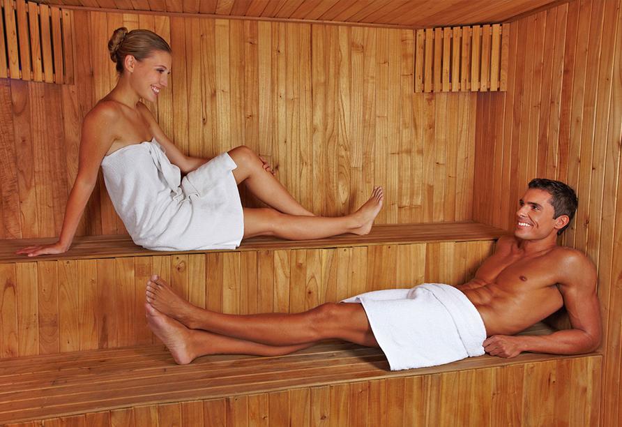 AQUAMARIS Strandresidenz Rügen an der Ostsee, Sauna