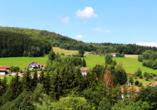 Burghotel Am Hohen Bogen in Neukirchen beim Heiligen Blut, Ausblick