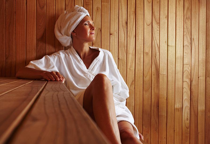 Burghotel Am Hohen Bogen in Neukirchen beim Heiligen Blut, Sauna