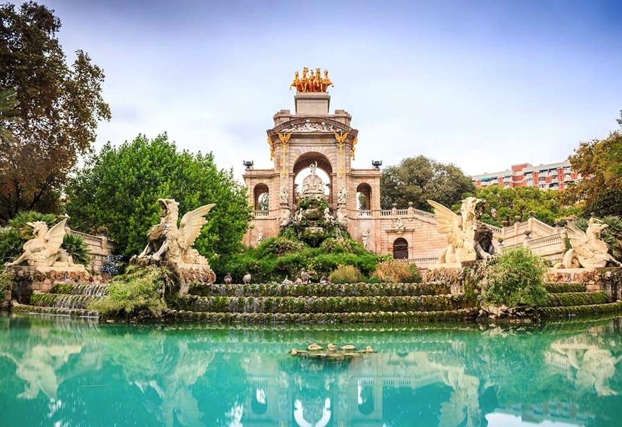 Hotel Alegria Maripins in Malgrat de Mar, Park Ciutadella