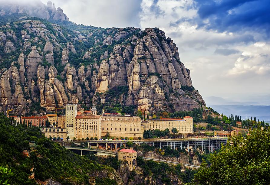Hotel Alegria Maripins in Malgrat de Mar, Kloster Montserrat