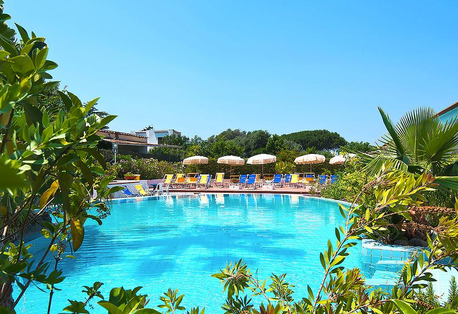 Hotel Francesco in Forio d'Ischia, Außenpool