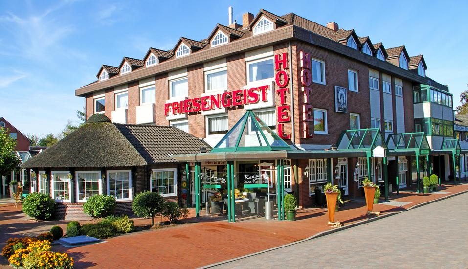 Hotel Friesengeist in Wiesmoor in Ostfriesland Außenansicht
